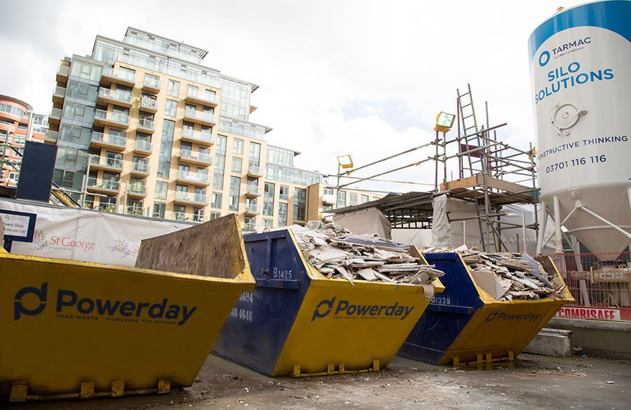 Construction Waste Recycling In London Powerday