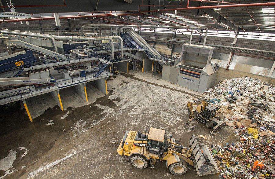 24 Hour Recycling Centre & Facility in London | Powerday