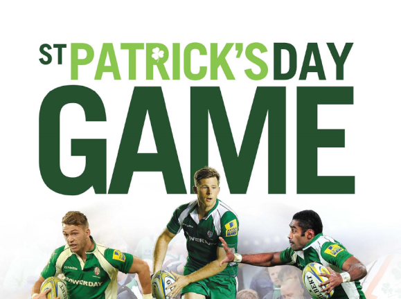 8913b921ad1 CELEBRATE ST PATRICKS DAY WITH US AT LONDON IRISH - Powerday