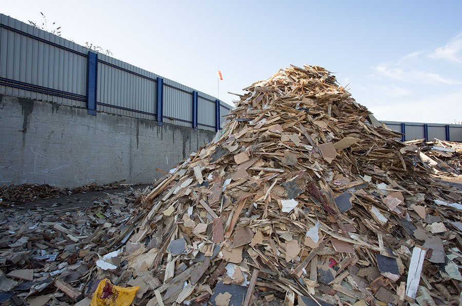 Wood Recycling, Collection & Disposal in London | Powerday
