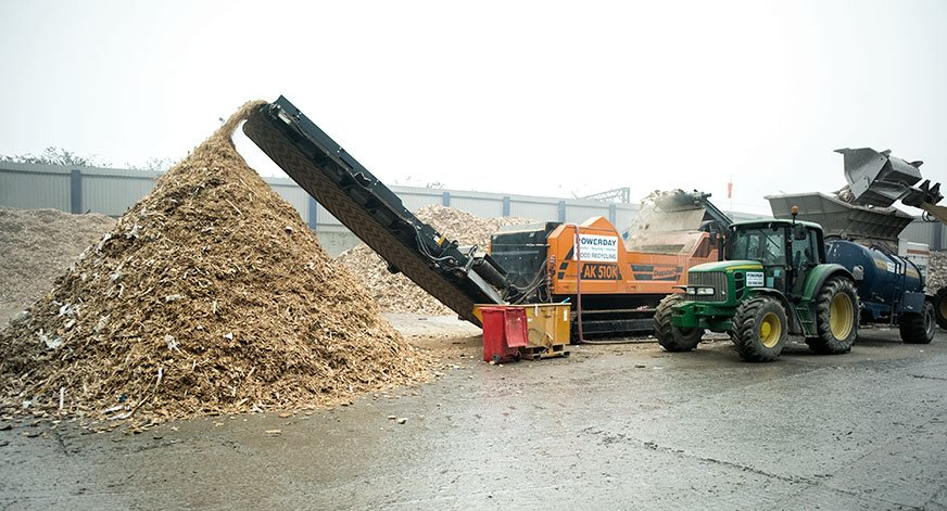 Wood Recycling Image