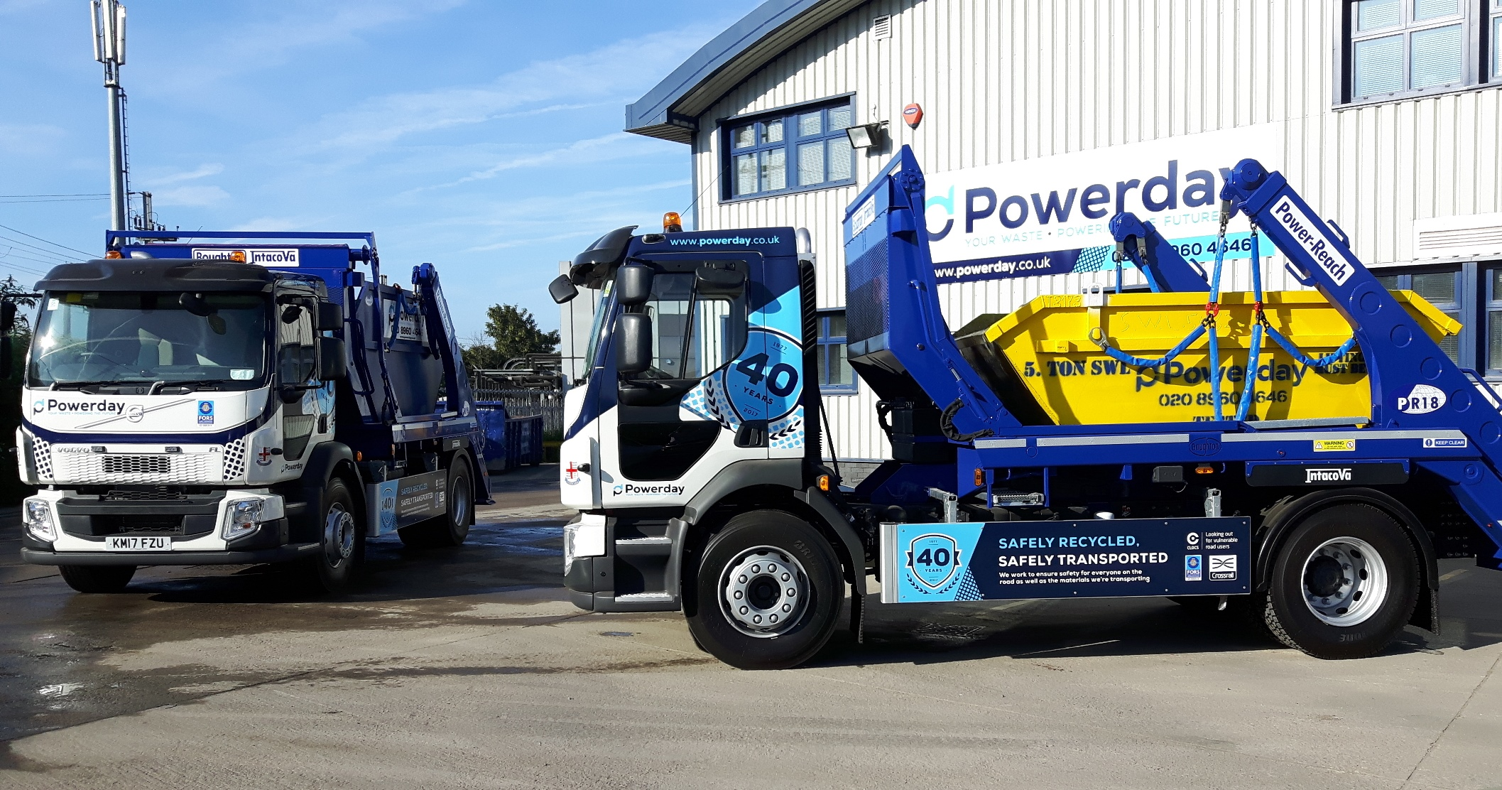 Powerday takes delivery of first in new state-of-the-art fleet