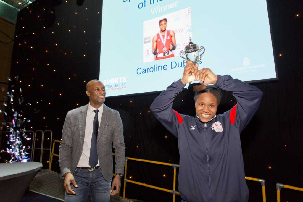 Canary Wharf Sports Personality of the Year - Caroline Dubois from Repton Amateur Boxing Club in Tower Hamlets