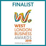 Finalist West London Business Awards 2019