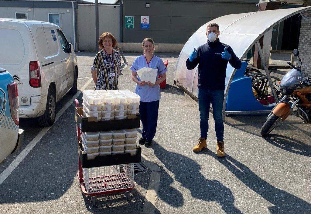 Powerday food blast delivers to NHS