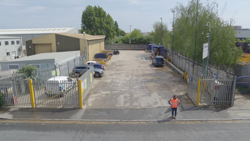 Powerday Wimbledon waste transfer station